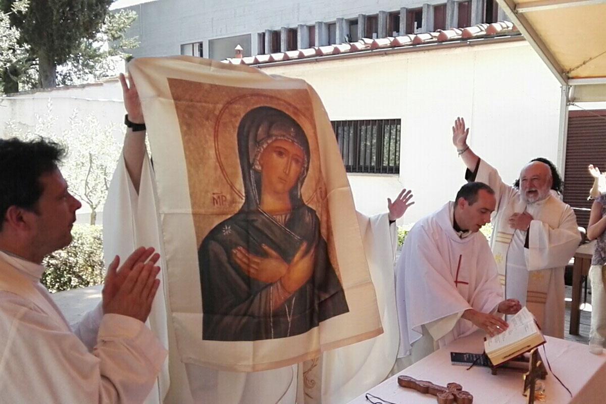 icona di maria